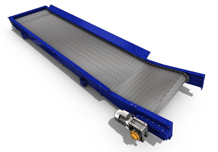 Laser cutting conveyor belt