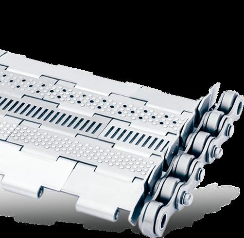 Visuel Tapis métallique de convoyeur au pas de 25.4 mm